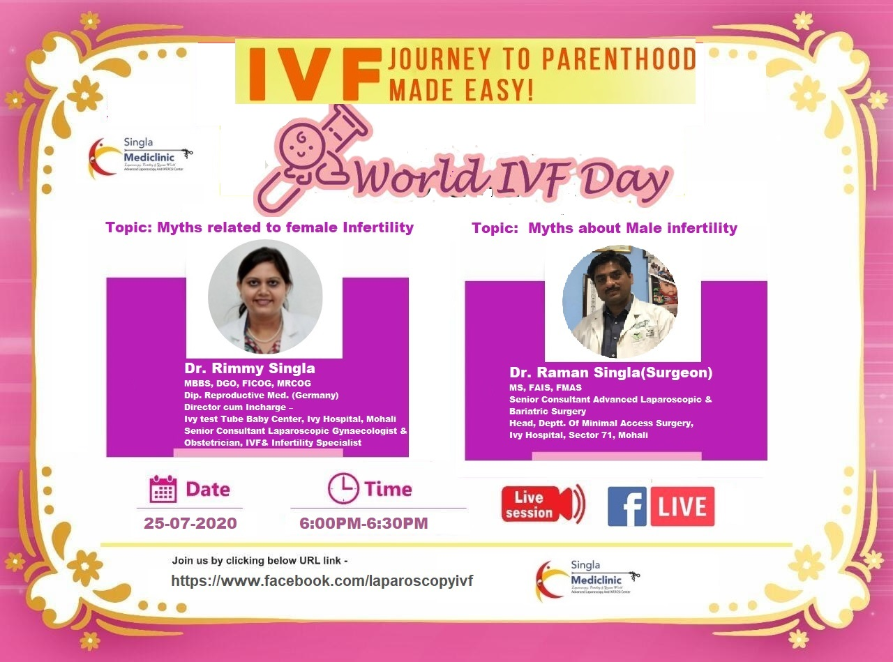 Singla Mediclinic celebrating World IVF Day!